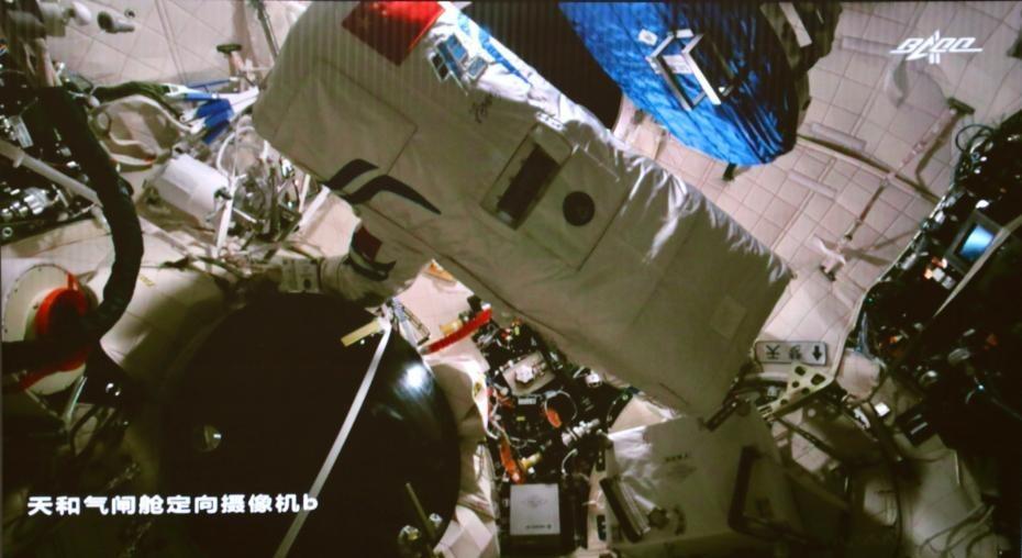 中國天空站-航天員第二次出艙01
