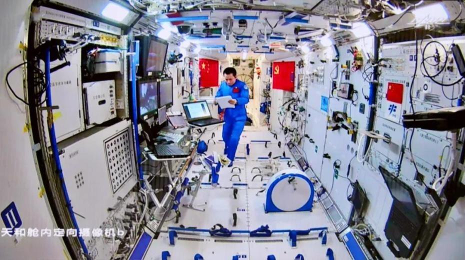 中國太空站-航天員2次出艙02