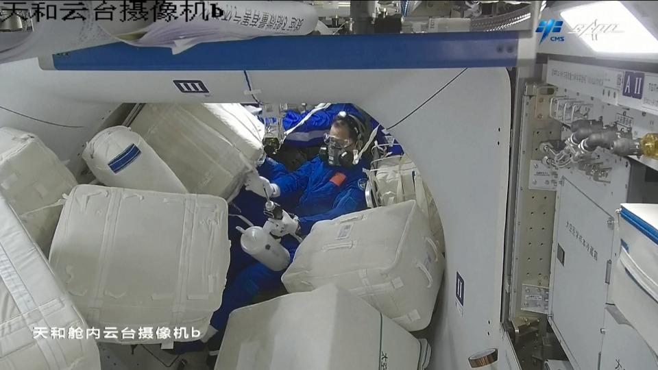 當代中國-中國科技-航天航空-天和生活