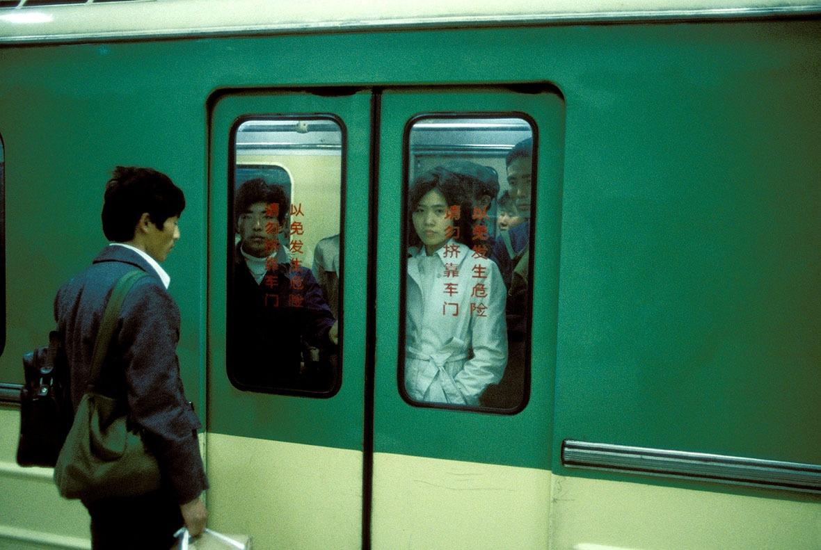 1984年北京。(圖片來源:Getty)