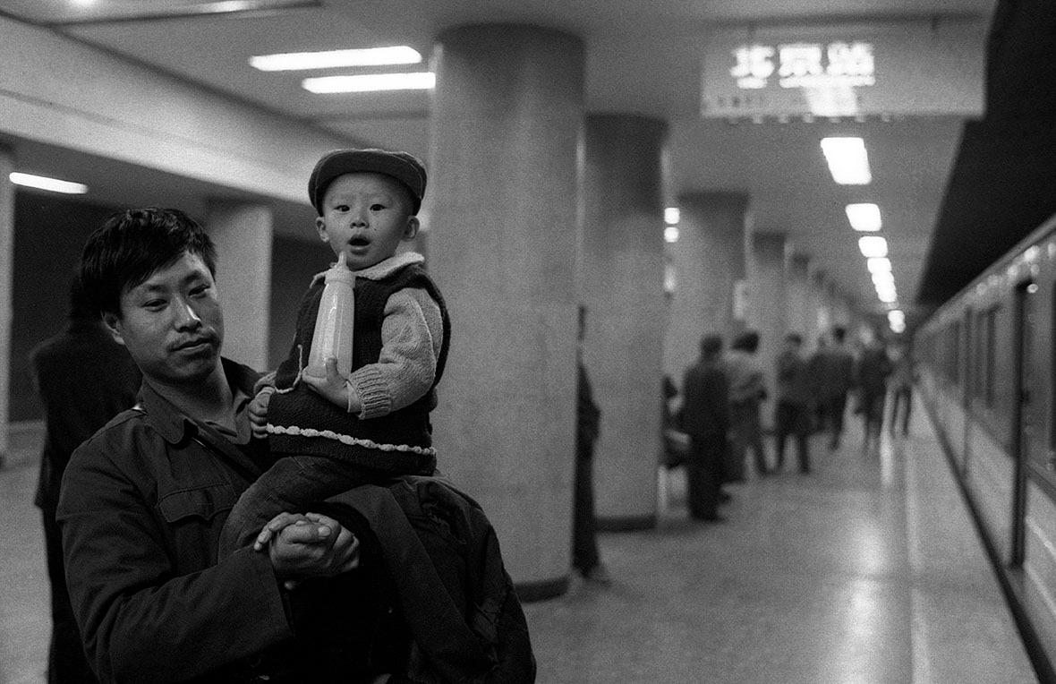1979年北京。(圖片來源:Getty)