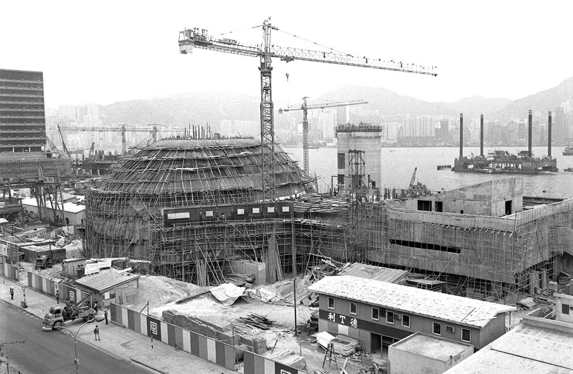 興建期間,攝於1978年。(圖片來源:Getty)