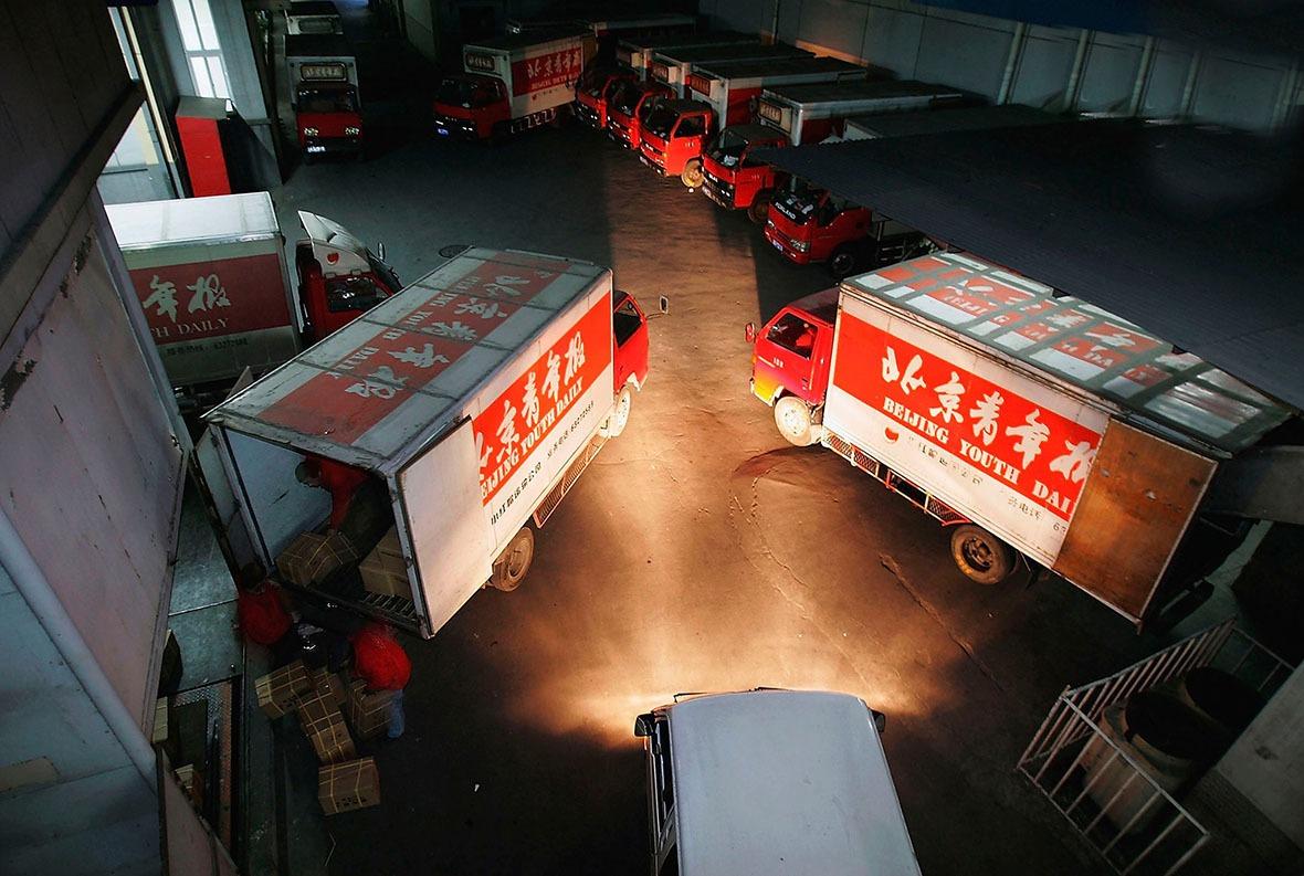 2004年北青傳媒首次公開集資,成為第一家在海外上市的內地報紙集團,這是改革開放下中國媒體產業商業化的重要里程。(圖片來源:Getty)
