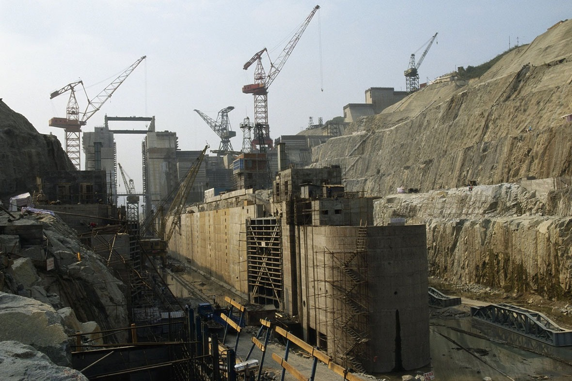 耗時15年才完成建造的三峽工程,仍是迄今世界上最大型的水利建設工程。