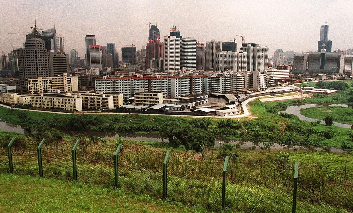 1997年,改革開放近十數載的深圳已相當城市化。