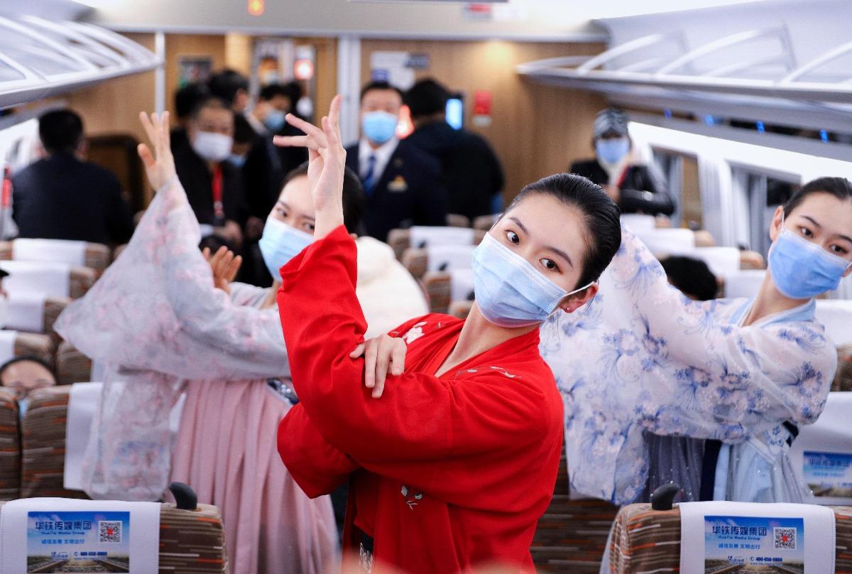 當代中國-中國高鐵-復興號