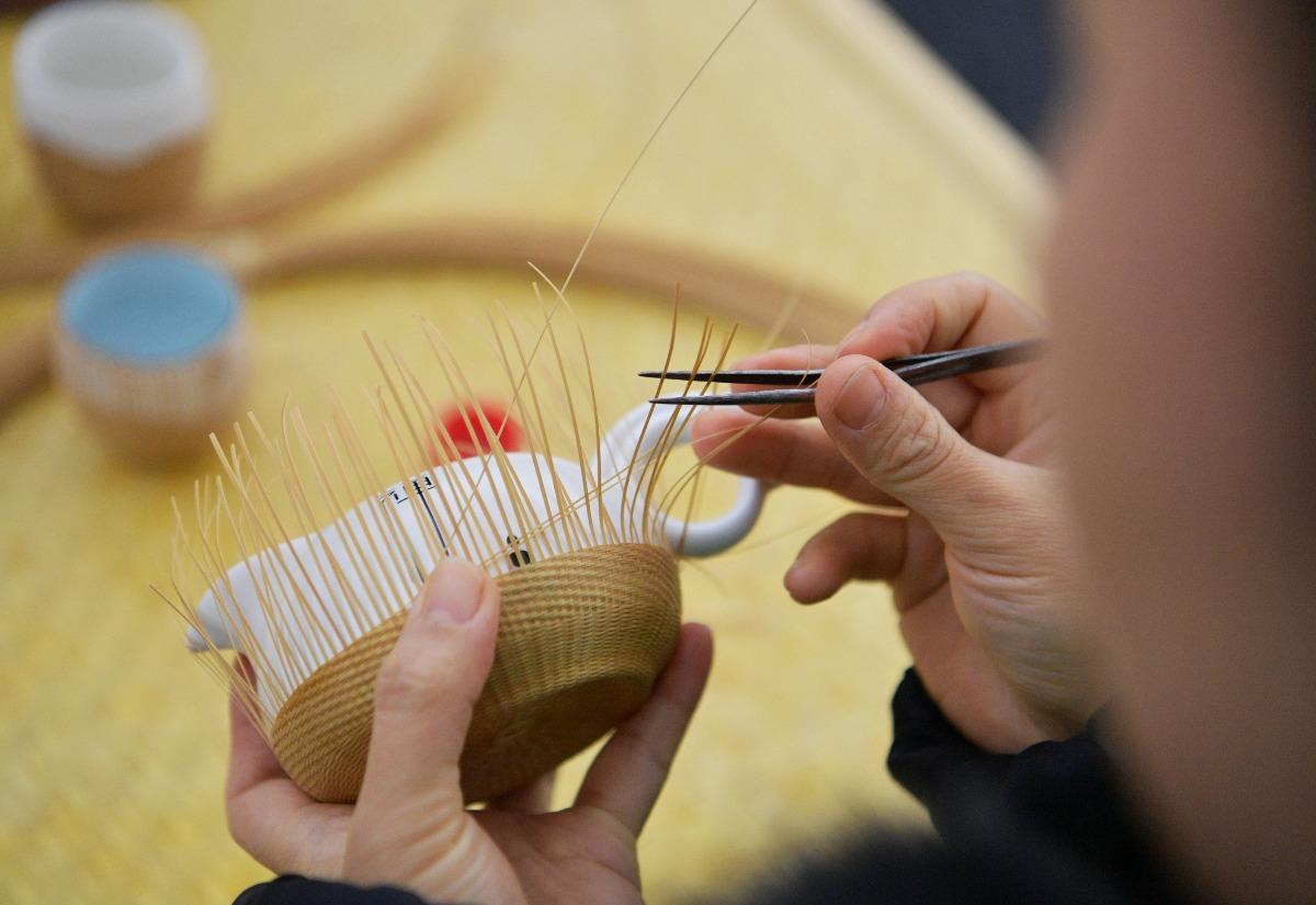 當代中國-中國文化-青神竹編