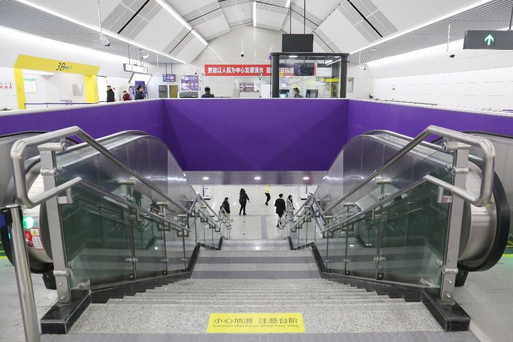 當代中國-最深地鐵站-重慶紅土地