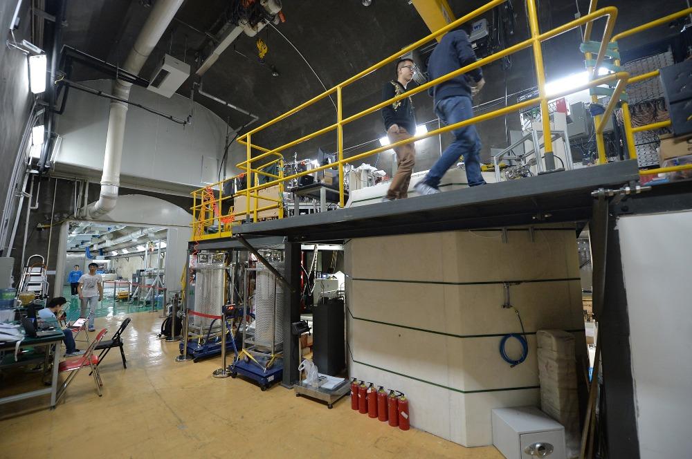當代中國-錦屏地下實驗室