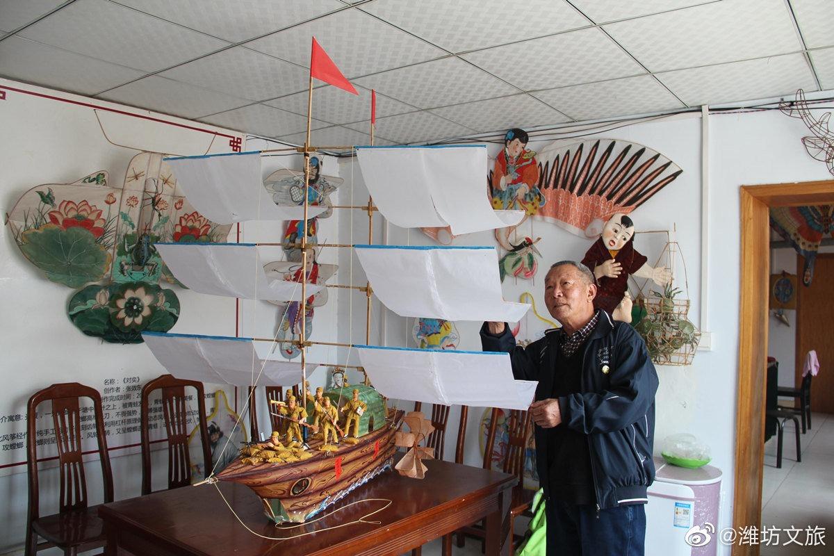 當代中國-文化傳承-濰坊風箏