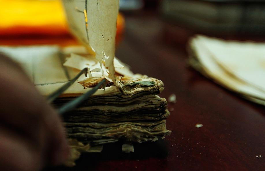 當代中國-古籍修復師