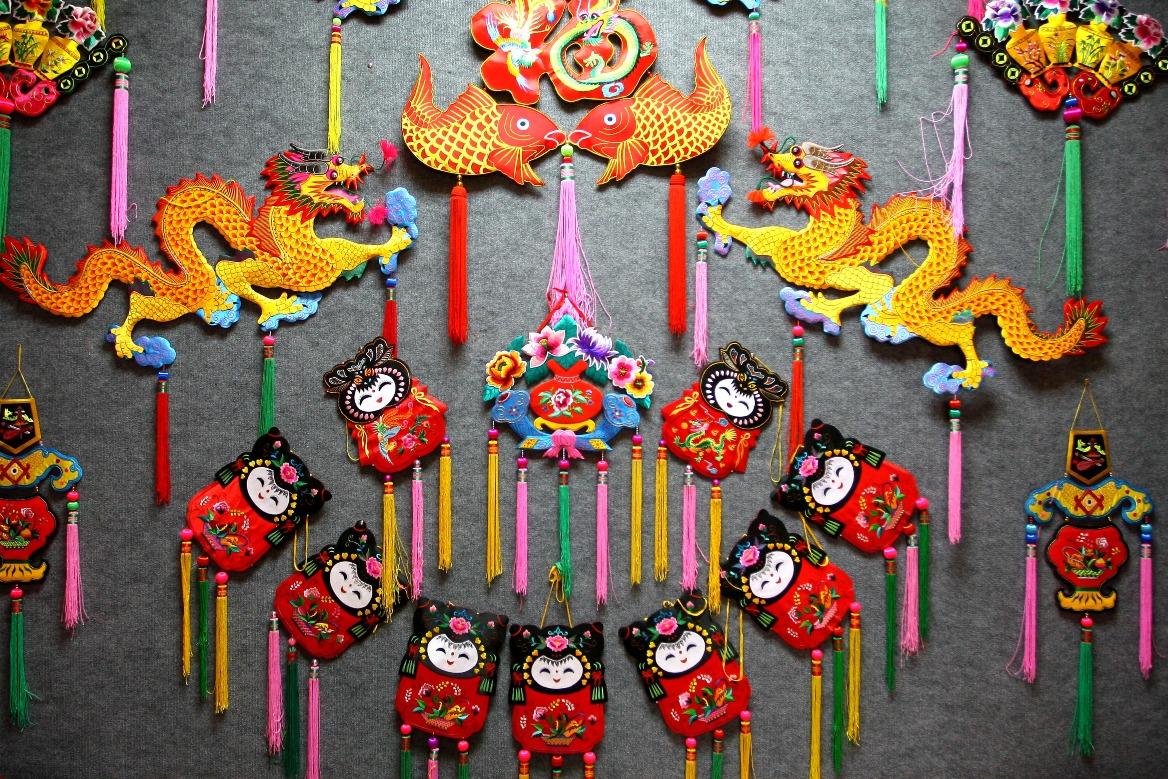 當代中國-文化傳承-慶陽香包