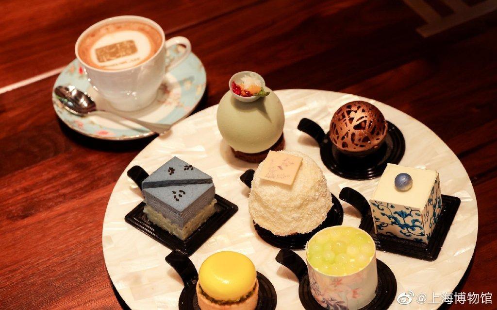 當代中國-中國旅遊-上海旅遊-上海-上海博物館-「博觀悅取」文創咖啡體驗店-02