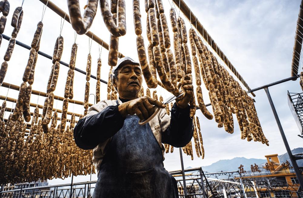 百味中國-廣東臘腸3