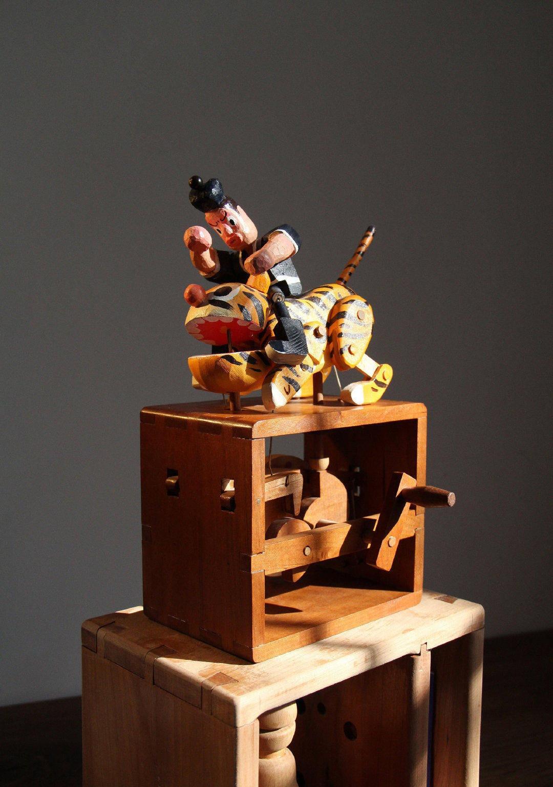 中國文化-手工木偶01