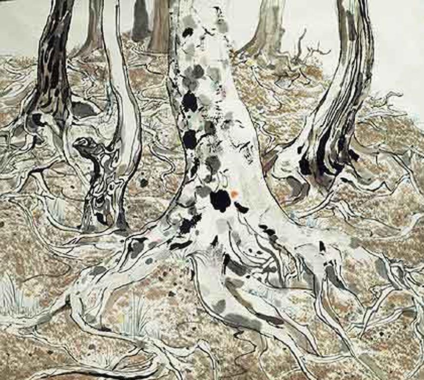 當代中國-飛凡香港-中國藝術大師吳冠中 從具象到接近抽象