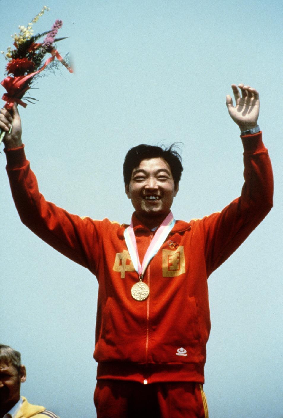 當代中國-中國體育-許海峰