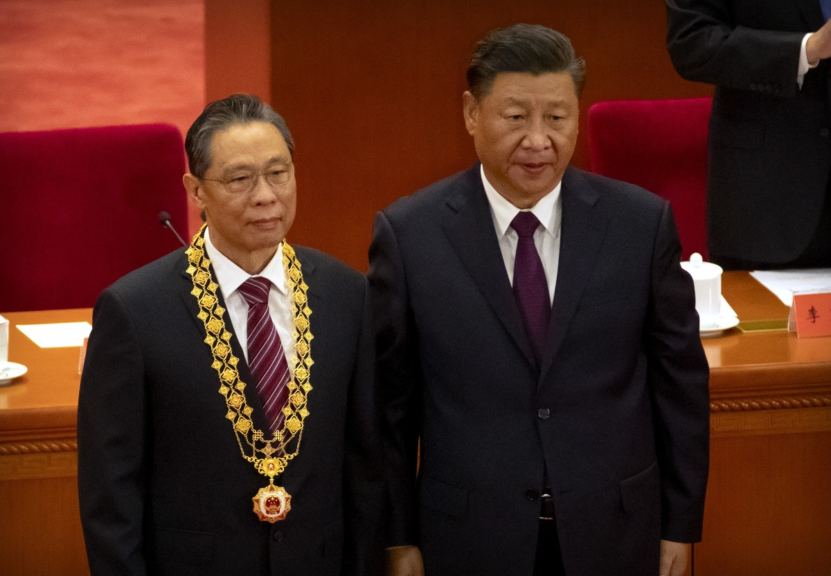 當代中國-鍾南山-沙士英雄
