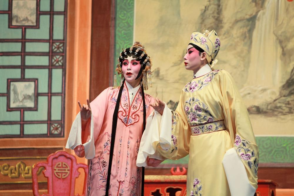 當代中國-粵港澳大灣區-香港文化-粵劇