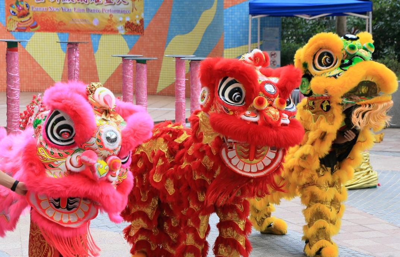 當代中國-粵港澳大灣區-香港文化-舞獅