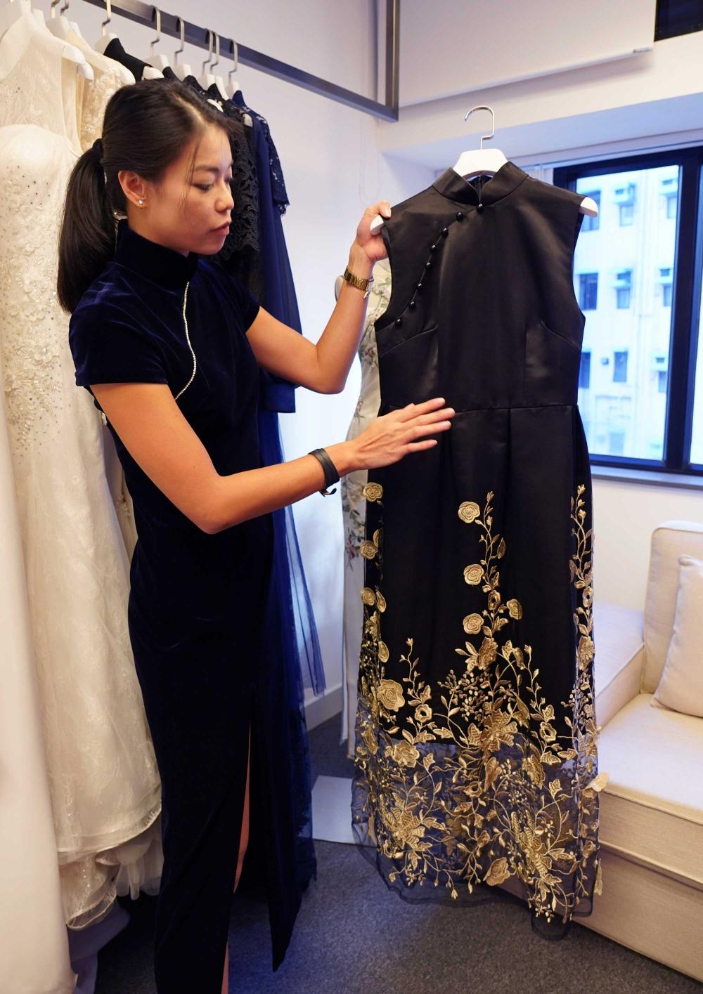 當代中國-粵港澳大灣區-香港文化-旗袍5