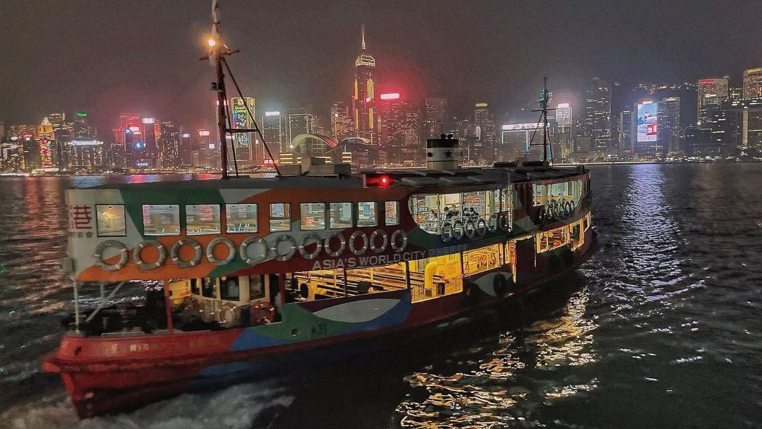 當代中國-粵港澳大灣區-香港文化-天星小輪1