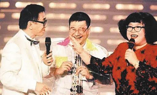 沈殿霞長期擔任全世界最「長壽」的綜藝節目《歡樂今宵》的主持工作,是該節目的標誌性人物。(網上圖片)