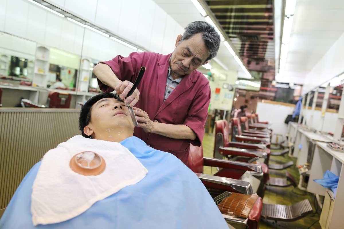 當代中國-粵港澳大灣區-香港文化-上海理髮店-1