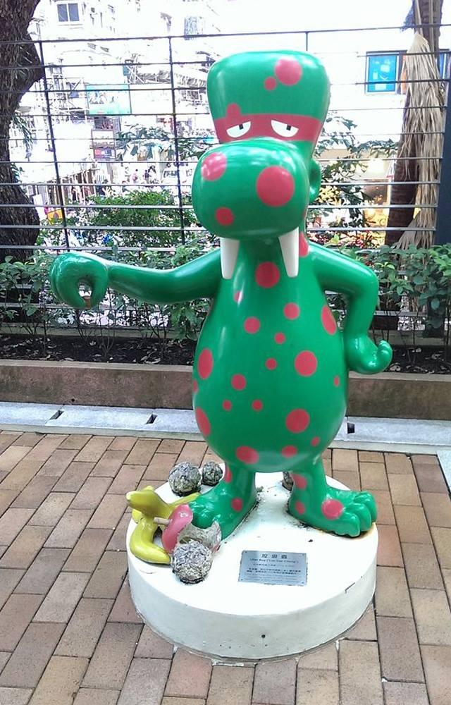 當代中國-粵港澳大灣區-香港文化-清潔龍-垃圾蟲-2