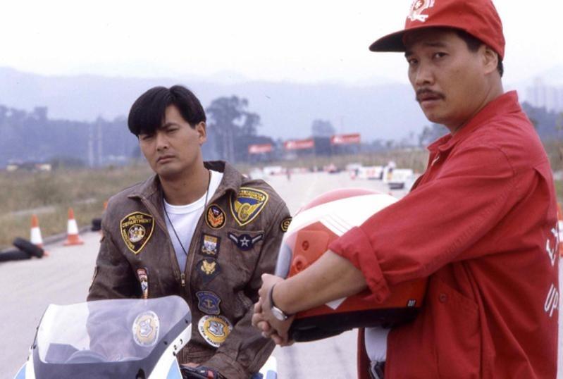 吳孟達與周潤發曾合作《再見阿郎》。(網上圖片)