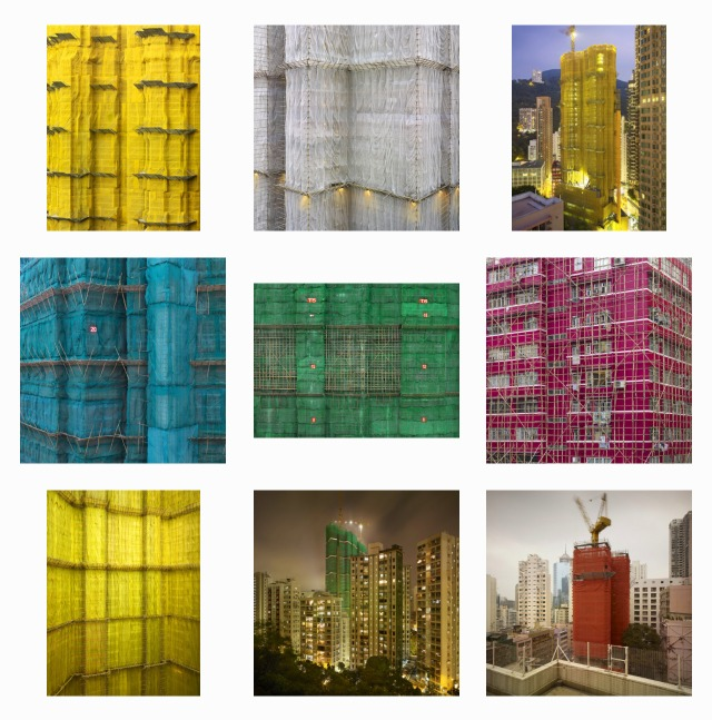 當代中國-粵港澳大灣區-香港文化-搭棚-竹棚-建築-1