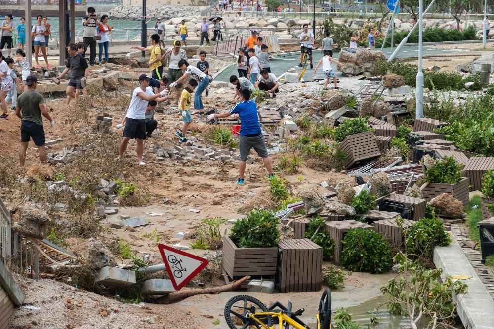 當代中國-粵港澳大灣區-香港文化-香港天氣-香港-天文台-颱風-2