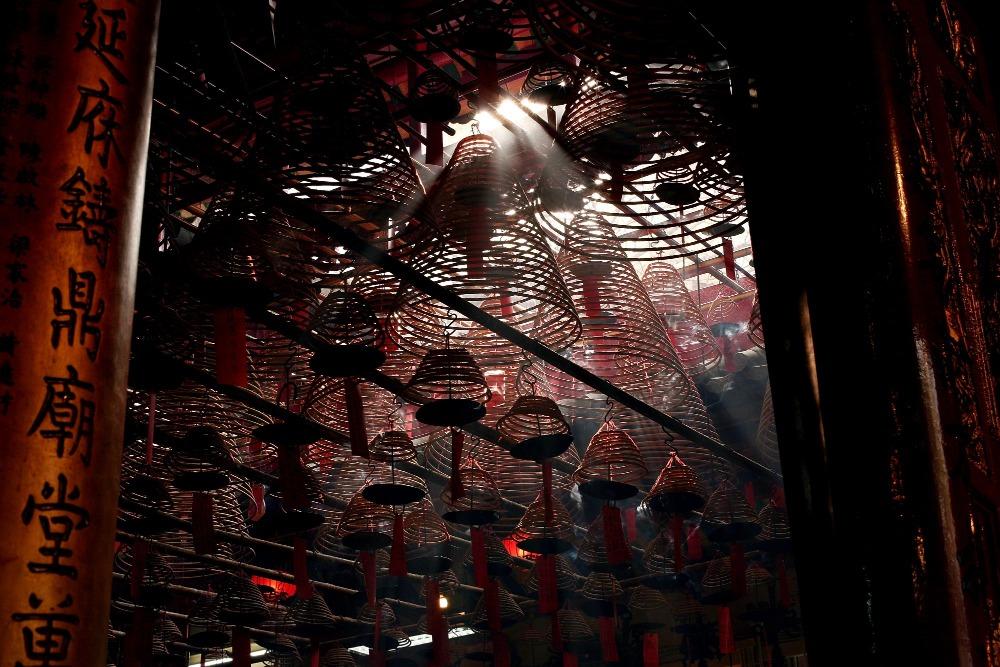 當代中國-粵港澳大灣區-香港文化-上環-中環-荷李活道-4