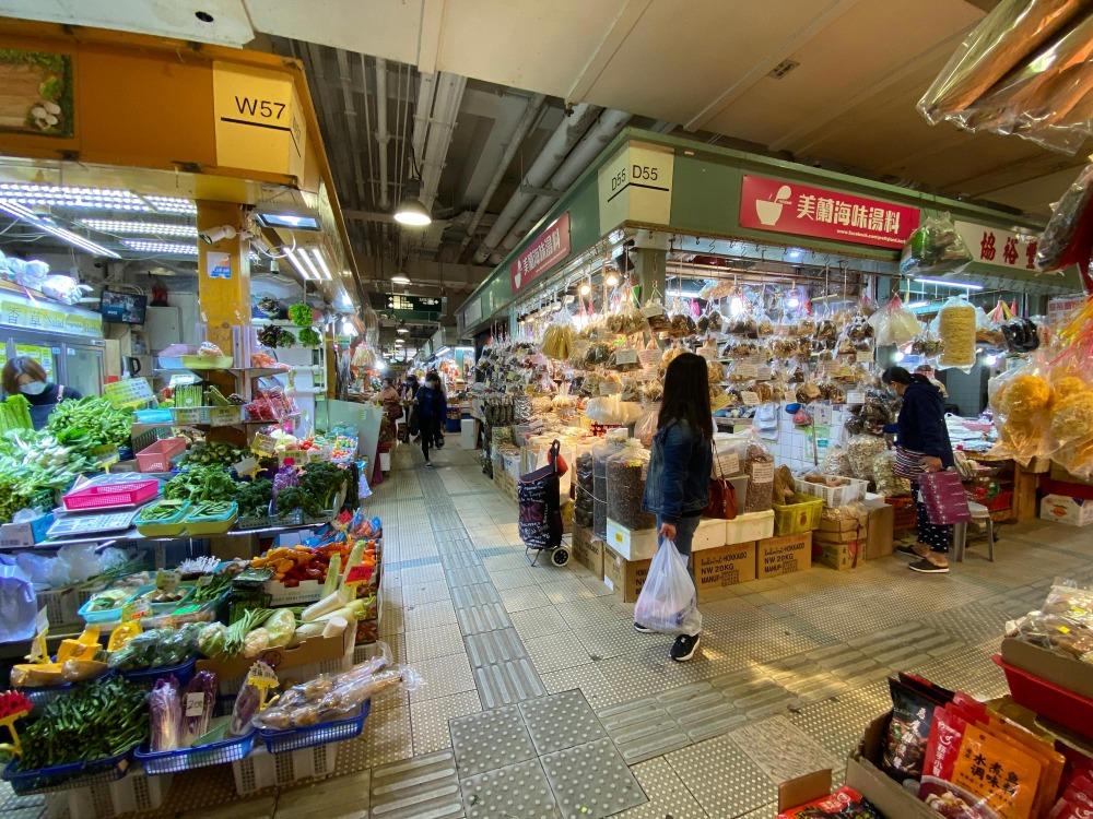 當代中國-粵港澳大灣區-香港文化-街市-小販-大埔街市-1