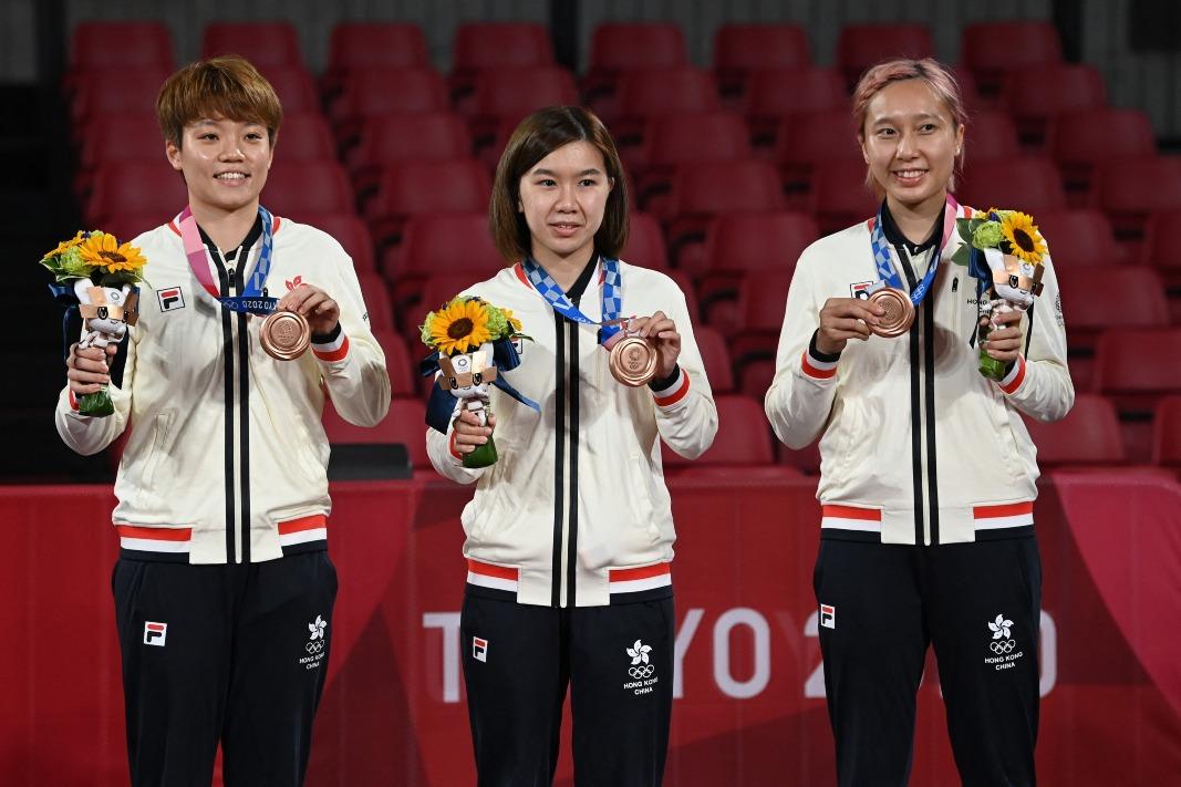 當代中國-飛凡香港-香港奧運獎牌得主逐個數