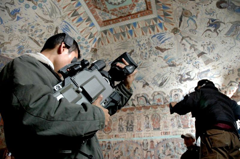 當代中國-中國文化-大城小事-敦煌內部攝影