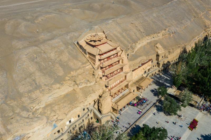 當代中國-中國文化-大城小事-敦煌外觀