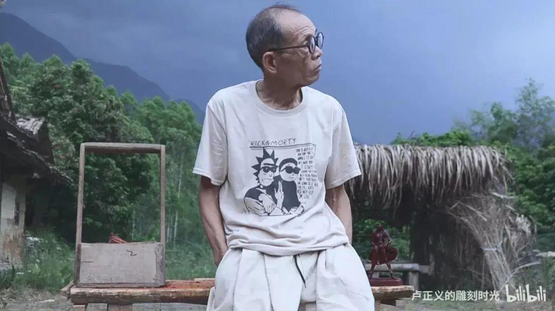 當代中國-中國文化-大城小事-木雕盧正義01