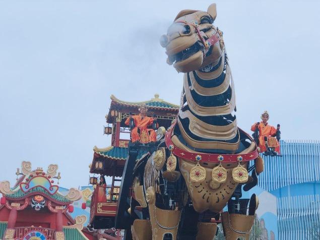 中國文化-巨馬04
