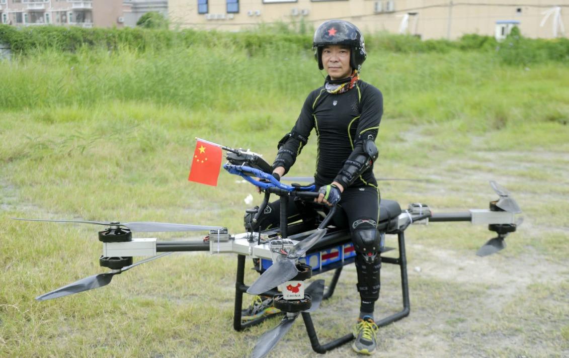 自製飛行電單車02