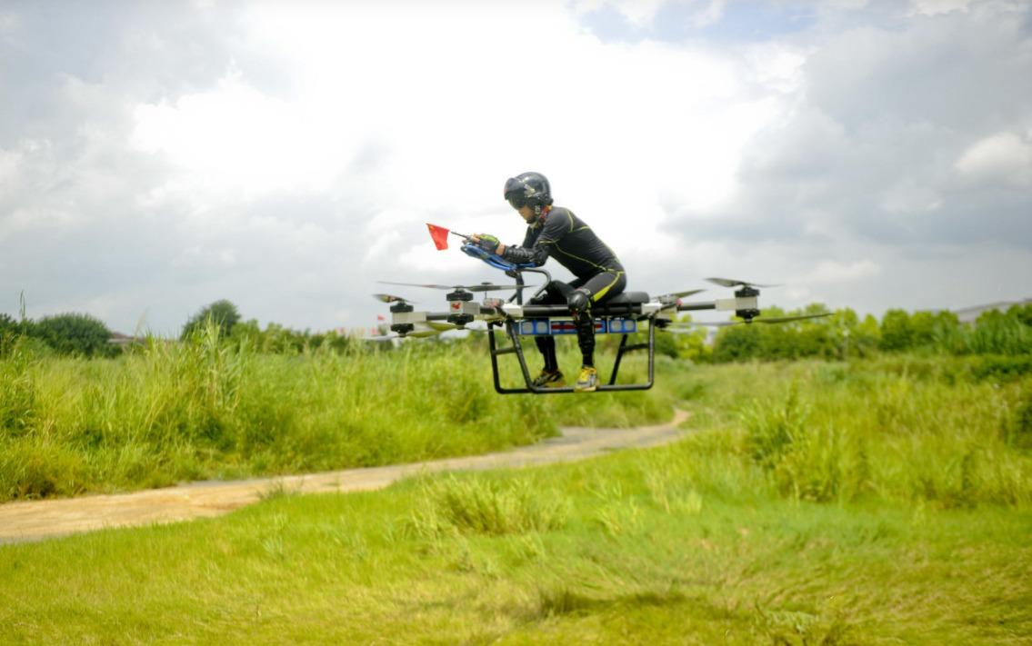自製飛行電單車03