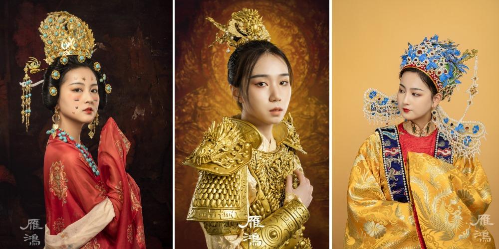 中國文化傳承-古風頭飾05