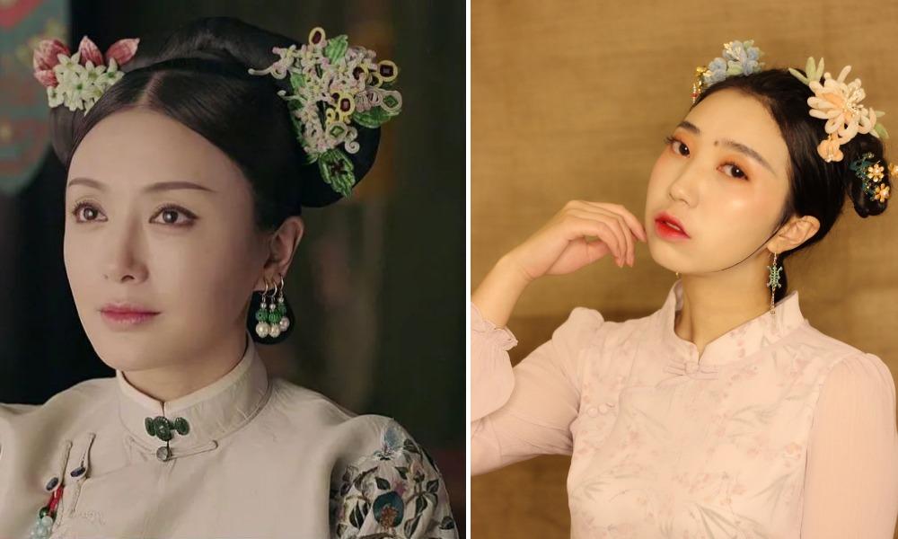 中國文化傳承-古風首飾01