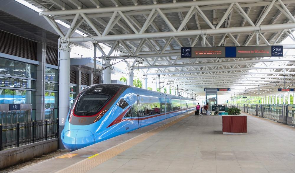 當代中國-超級工程-海南環島高鐵