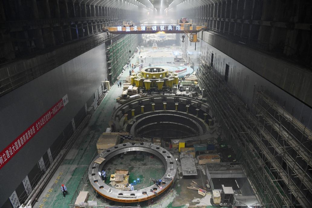 當代中國-白鶴灘水電站
