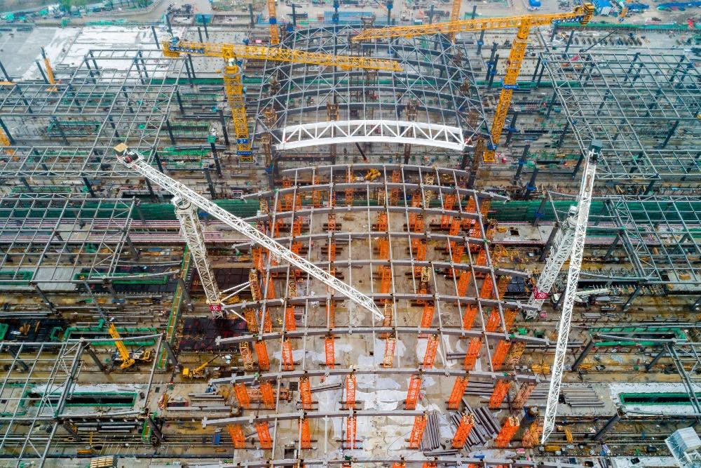 當代中國-超級工程-雄安高鐵站