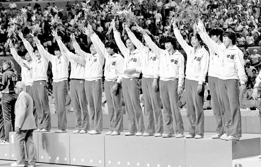 1984年洛杉磯奧運贏得金牌。(網上圖片)