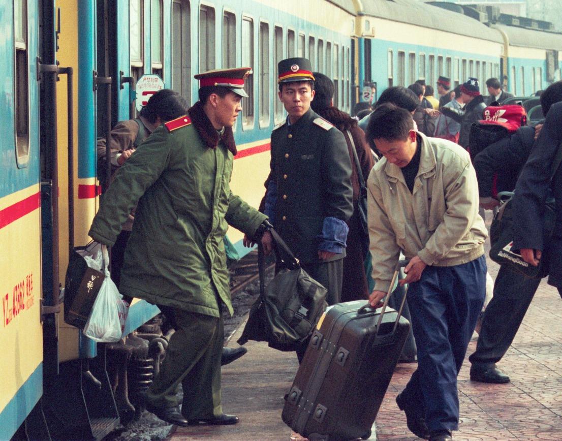 當代中國-中國經濟-春運人數變遷