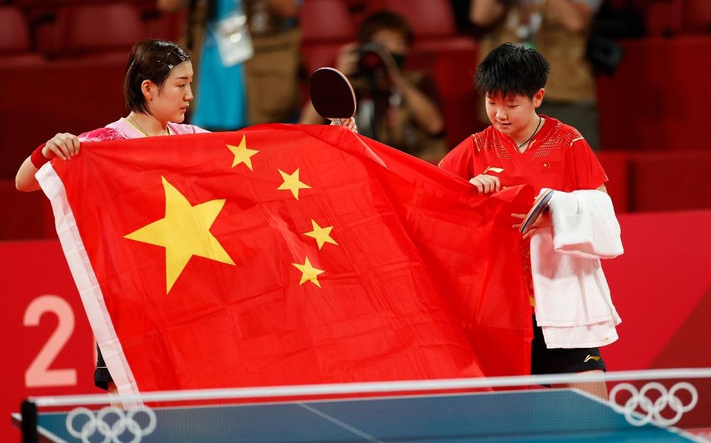 當代中國-東京奧運-運動員省份