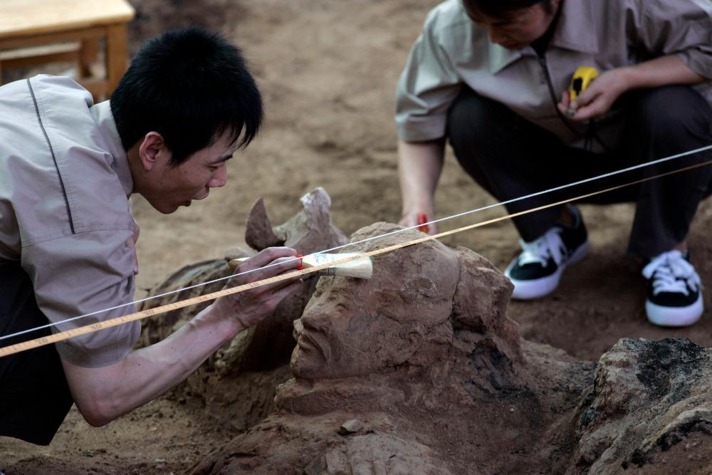 當代中國-趣味數字-陝西考古日均文物60件